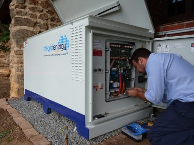 Battery System Installation