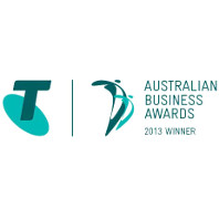 Telstra Business Award Winner
