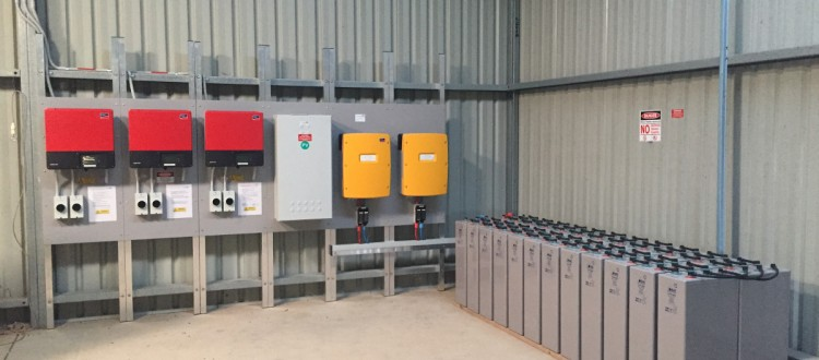 off grid battery storage