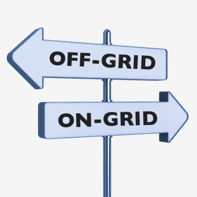 Off grid or grid connection