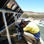 Tindo Solar panel installation