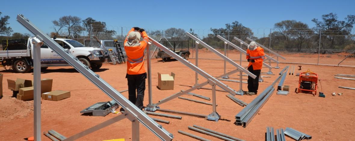 Ground Mount Solar Installers