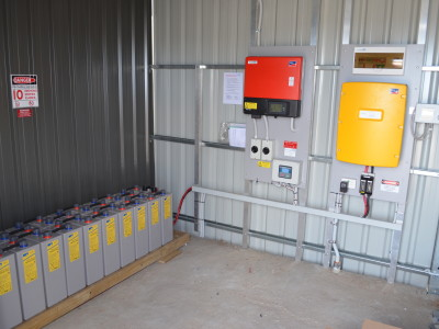 off grid battery system