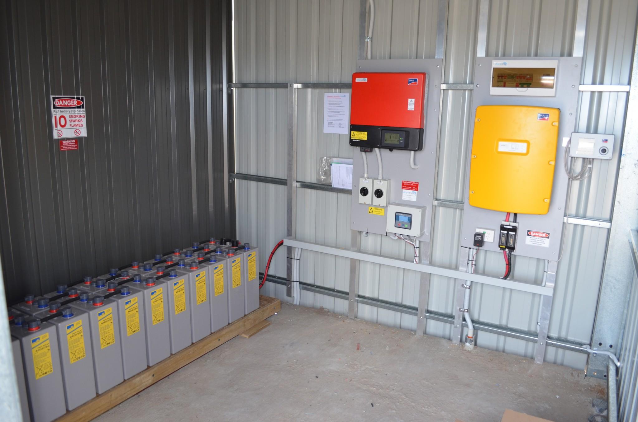 Battery Storage Ready Solar Off Grid Energy Australia