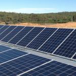 Solar array installation