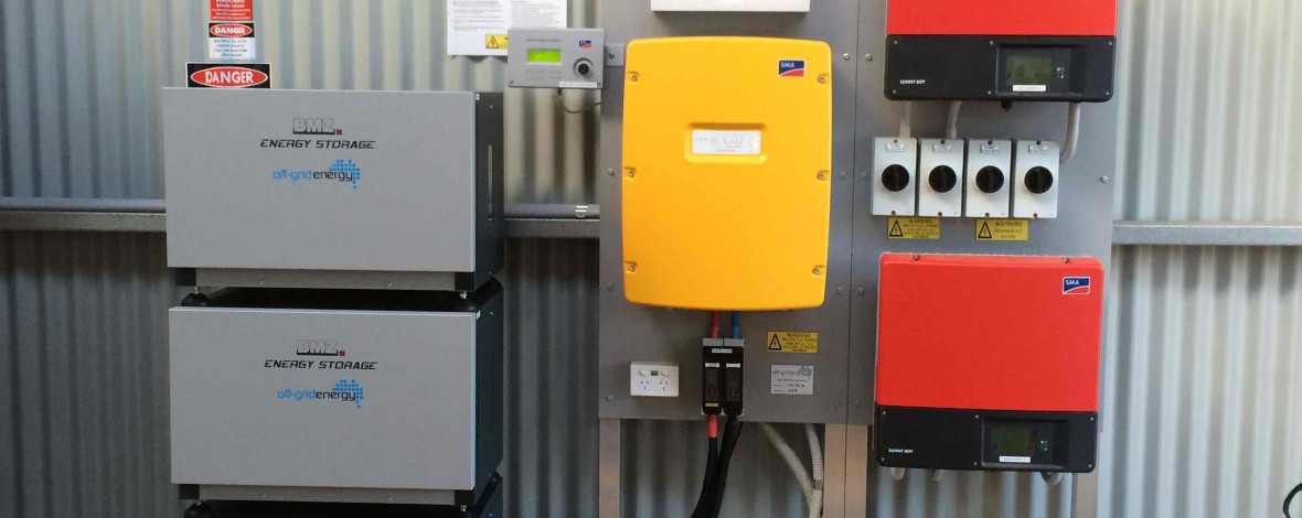 off grid lithium ion system