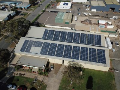 Solar for manufacturing business