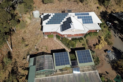 agriculture business with off grid solar power