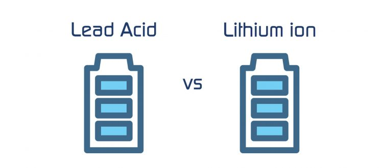 Lead Acid vs Lithium batteries