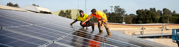 Implementing commercial solar system