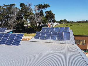 Harmony House Rural Property Solar Panels 1