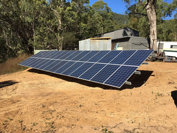 Cameron Complete Off Grid Solar System