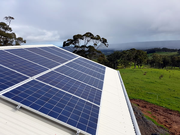 Chrissy and Lisa Complete Off grid Solar System