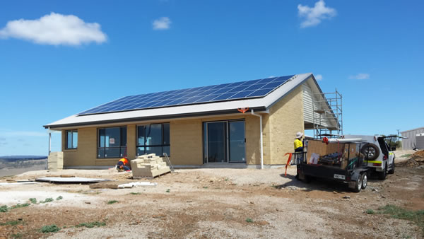 Doug and Harriet Complete Off Grid Solar System