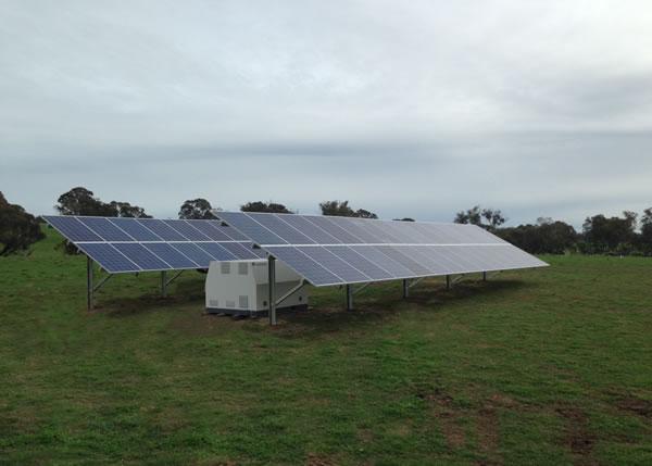 Simone and Matt Complete Off Grid Solar System