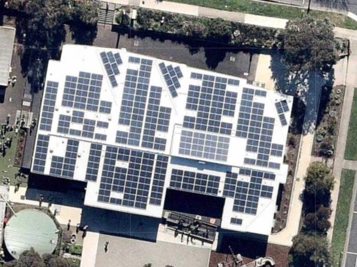 268 solar panels on primary school