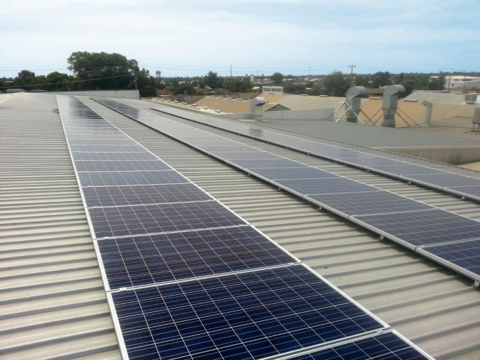 30kW grid connected solar system