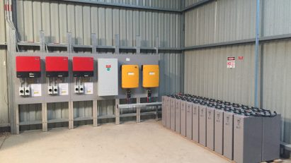 off grid battery storage