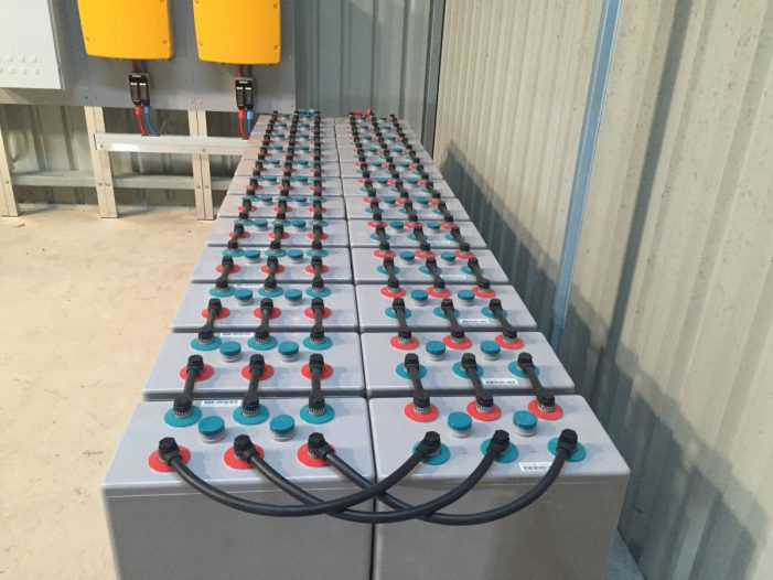 Large battery system