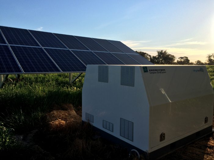 Battery storage unit for house