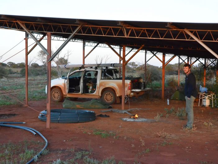 Off Grid Solar Sytem Spinifex Arts Studio