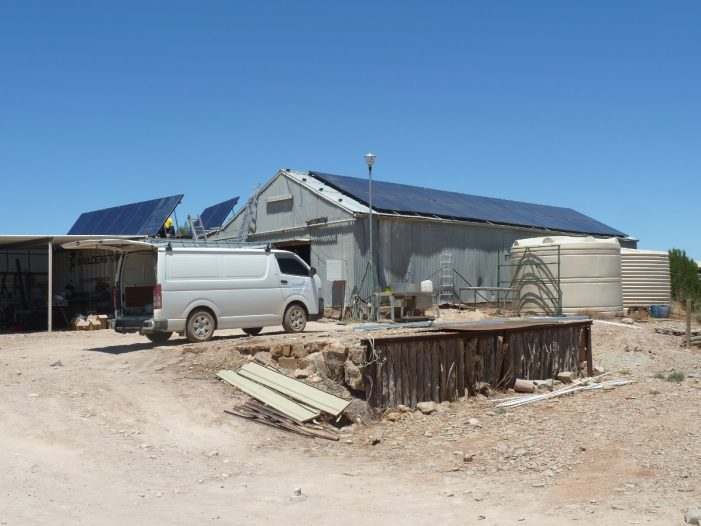Tindo mini grid off-grid system