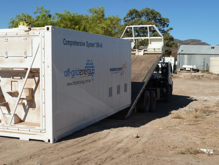 Large scale battery storage