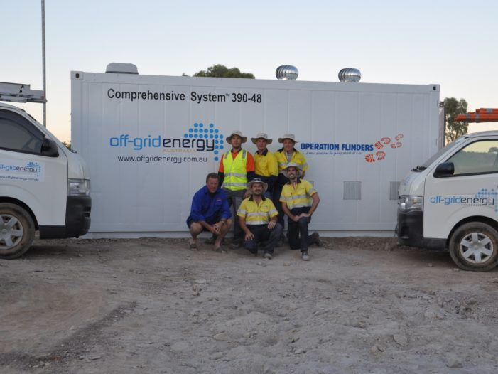 Off grid battery installers