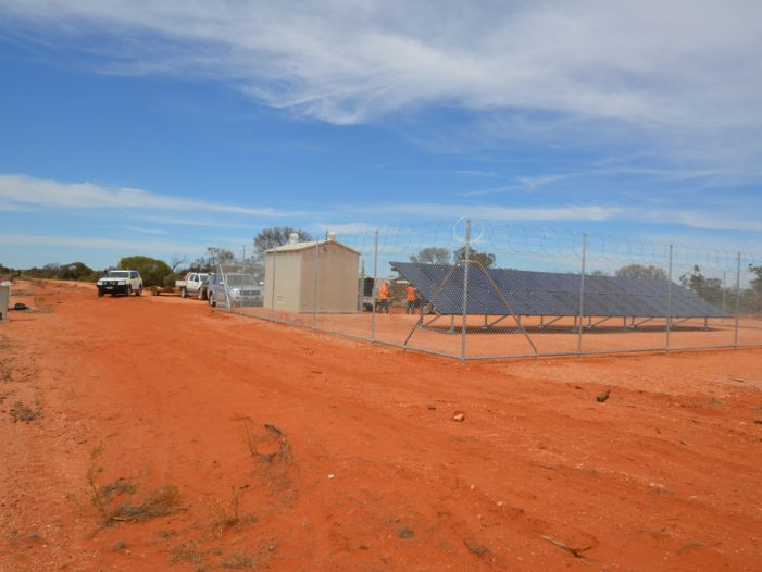 Remote off grid system