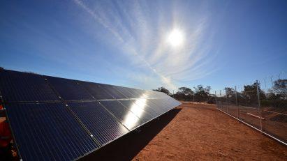 Solar Ground Mount Array