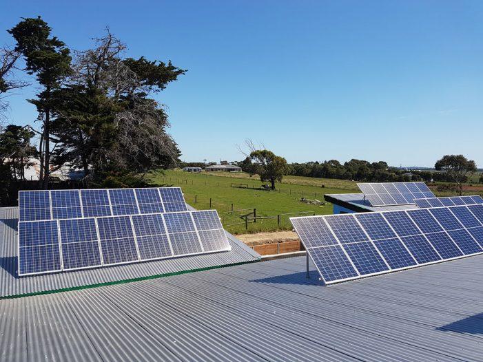 Harmony House Rural Property Solar Panels 3